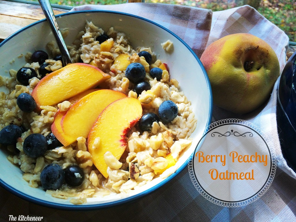 Berry Peachy Oatmeal