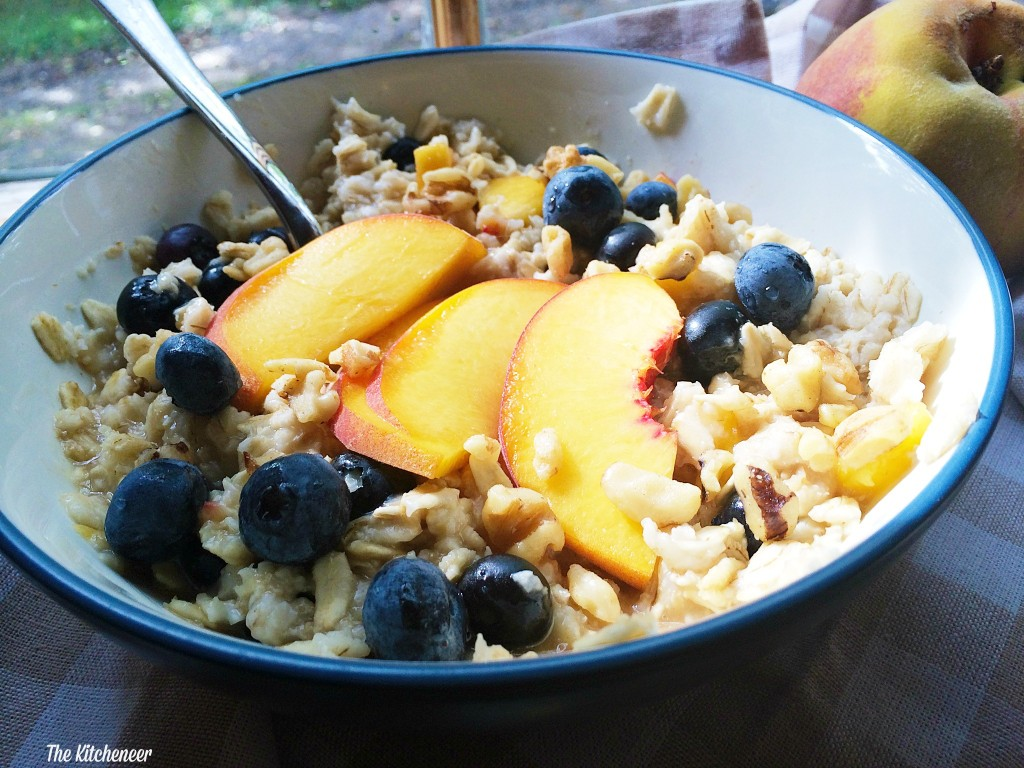 Berry Peachy Oatmeal 2