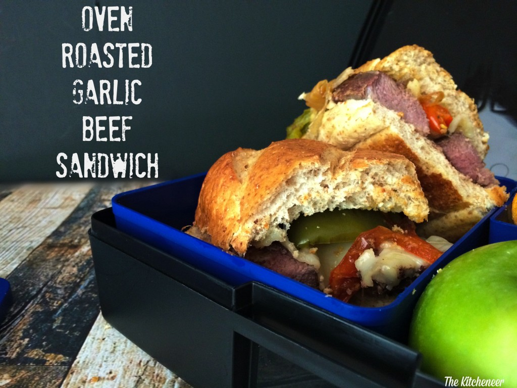 Oven Roasted Garlic beef sandwich 2