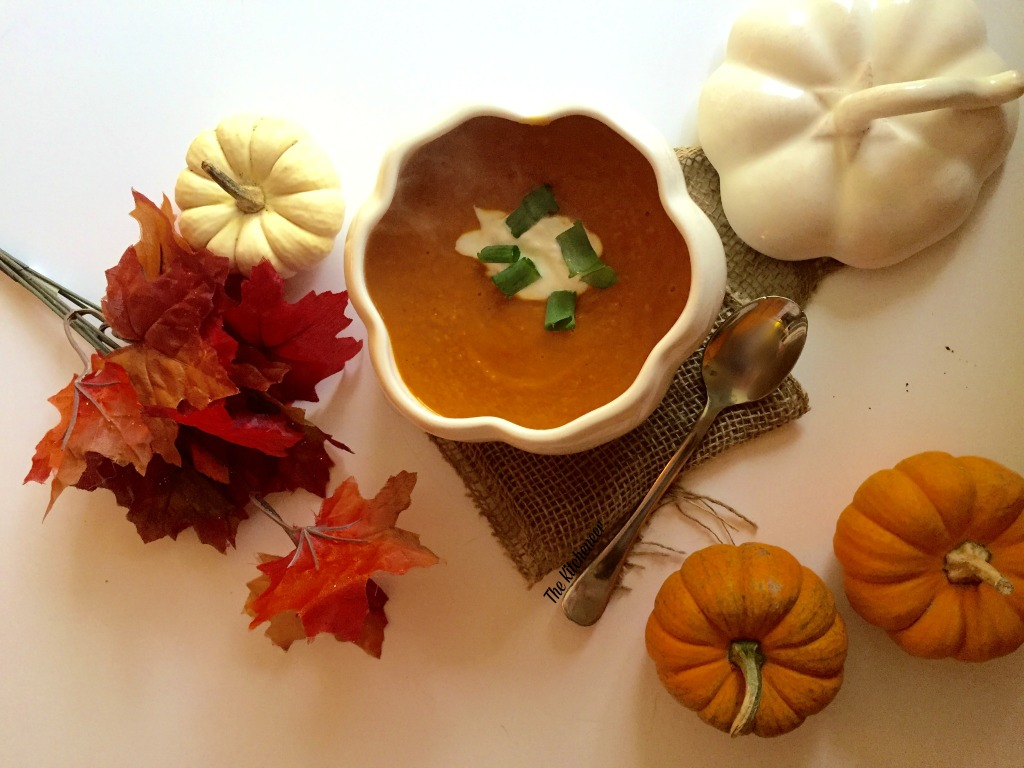 how to make simple creamy pumpkin soup