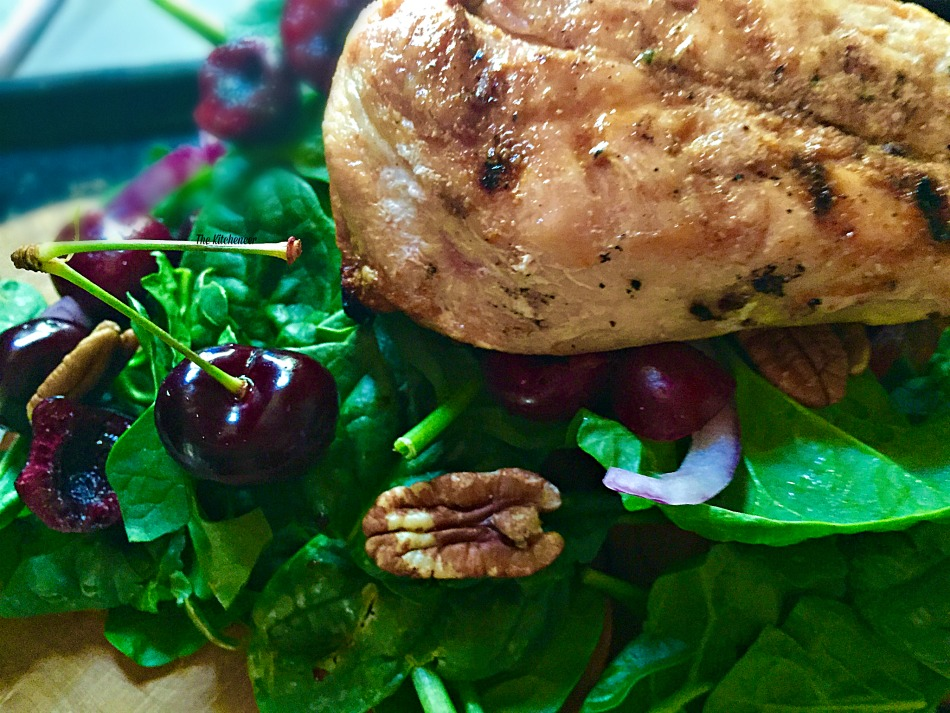 Grilled-Chicken-Cherry-Salad