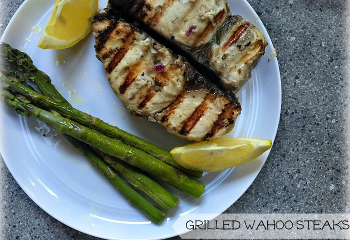 Grilled Wahoo
