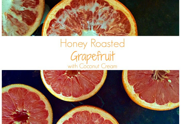 Honey Roasted Grapefruit