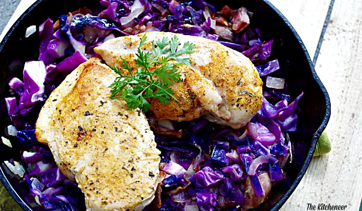 Purple-Cabbage-with-bacon