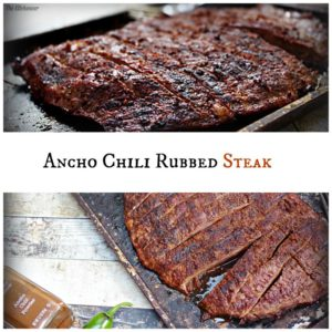 Ancho Chili Rubbed Steak