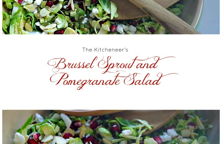 Brussel Sprouts and Pomegranate Salad