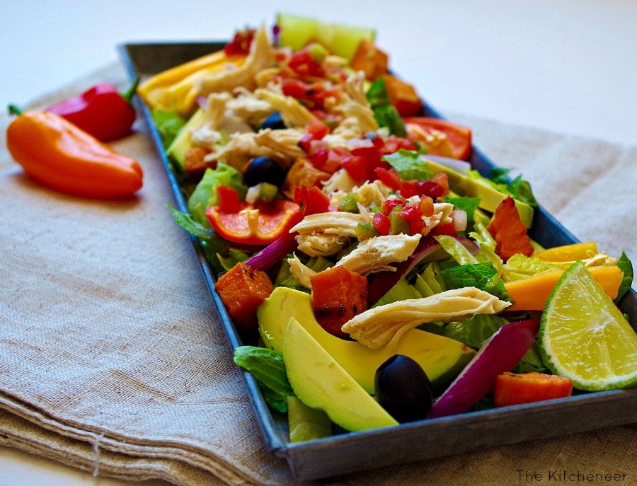 shredded_chicken_nachos_salad