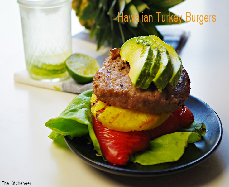 Hawaiian Turkey Burgers! A great way to get your grill on this Summer!