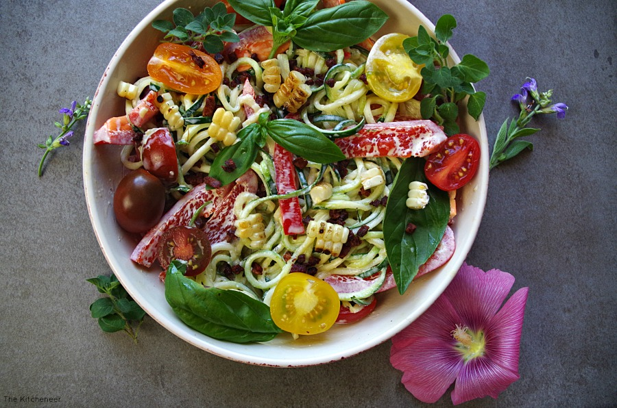 greens and feta pasta summer pasta salad with baby greens minute video ...