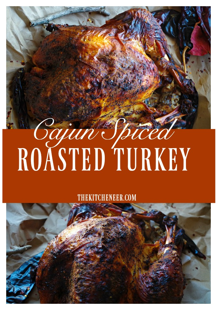 Cajun Spiced Roasted Turkey