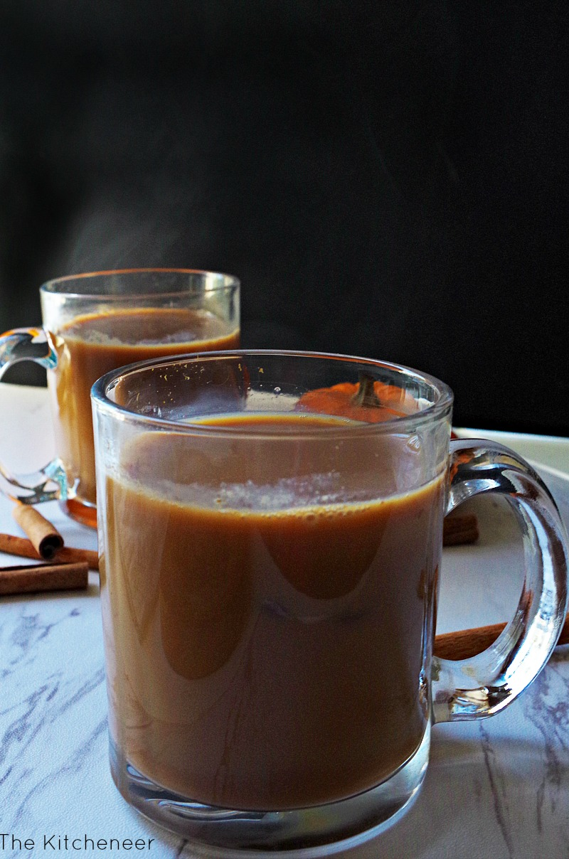 Sweet Cinnamon Pumpkin Chai Tea