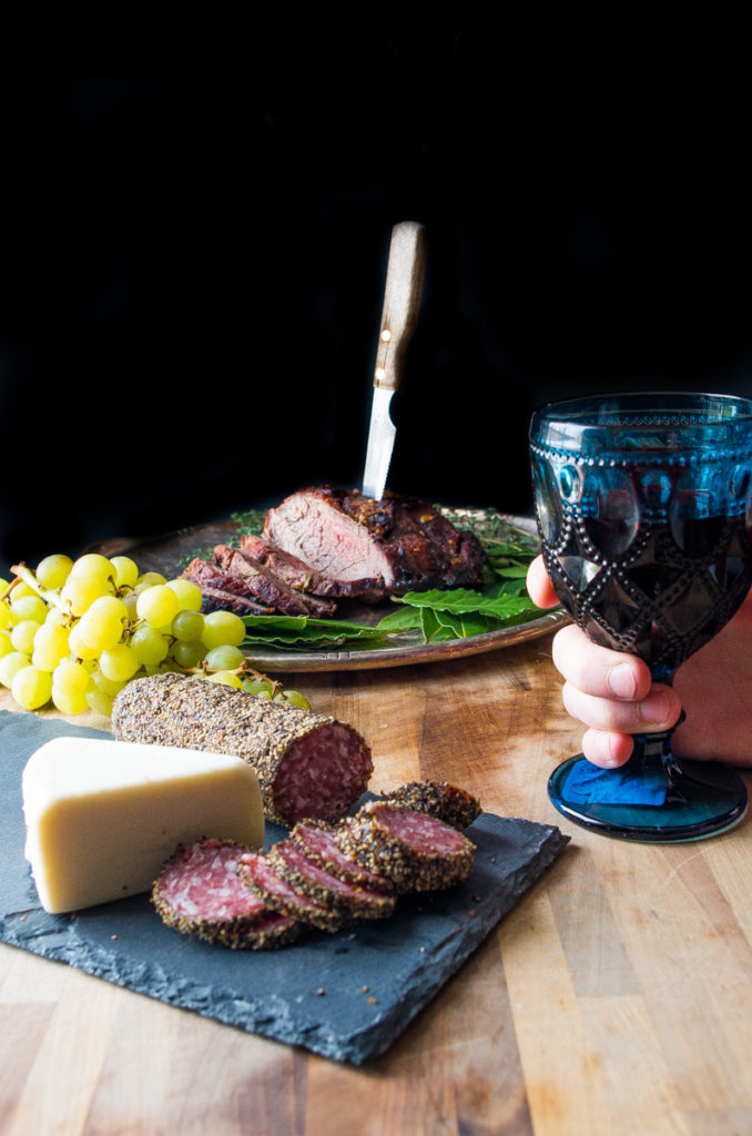 Game of Thrones Garlic Herb Bison Roast- the PERFECT feast for anyone OBSESSED with Game of Thrones  thekitcheneer.com