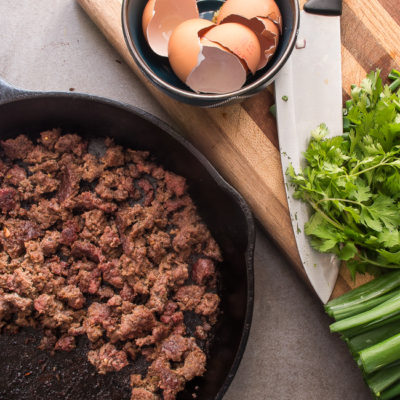 how to cook bison breakfast sausage