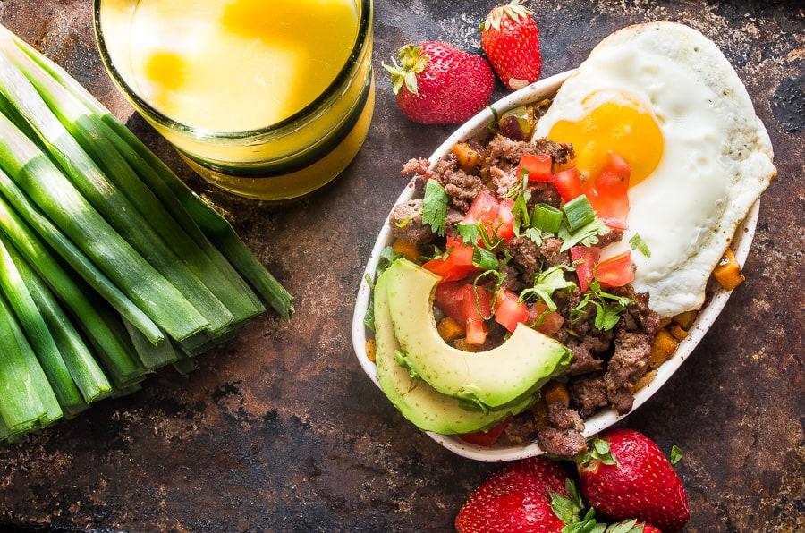 Bison breakfast sausage recipe dandk organizer for Cutthroat kitchen perfect burrito